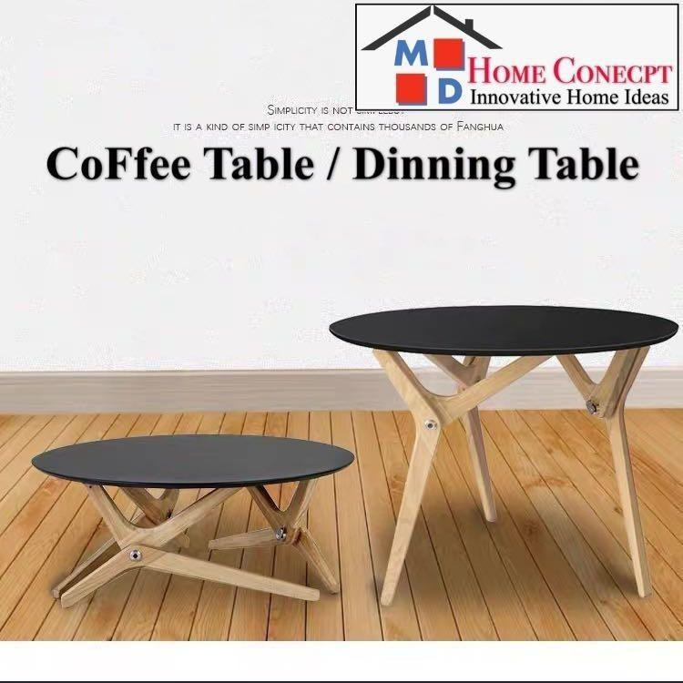 Md Home Storage Convert To A Dining Table Coffee Furniture Tables Chairs On Carousell