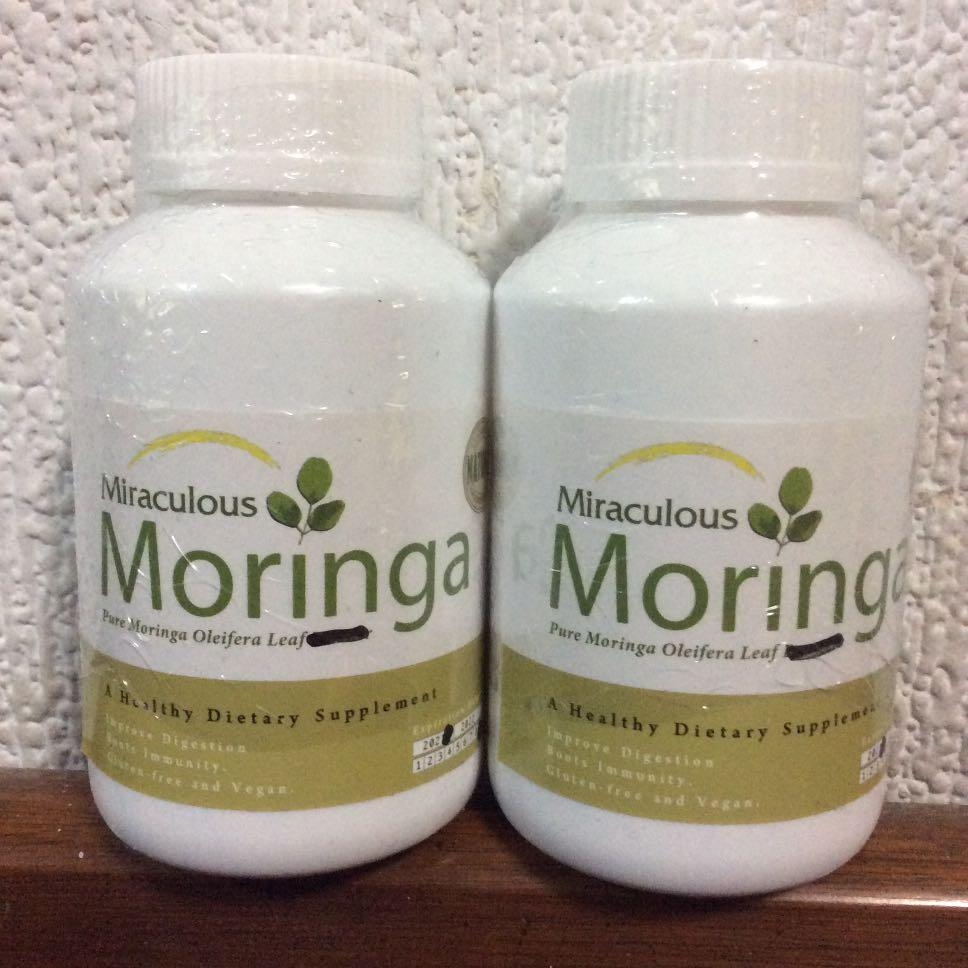 奇蹟之木,辣木膠囊。moringa capsule malunggay