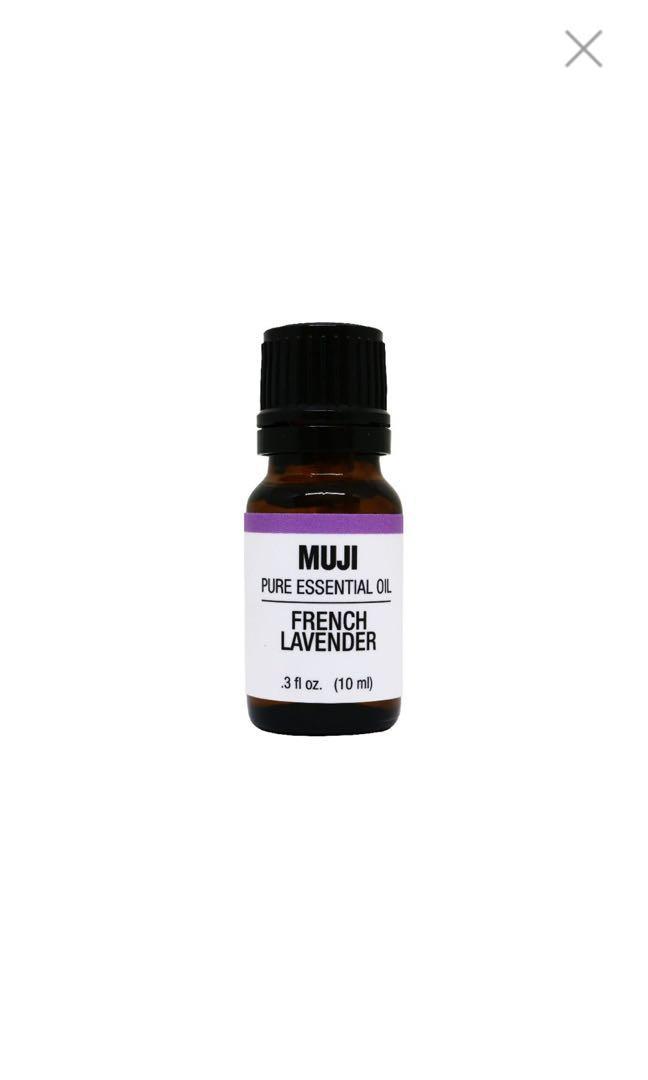 MUJI Pure Essential Oil French Lavendar