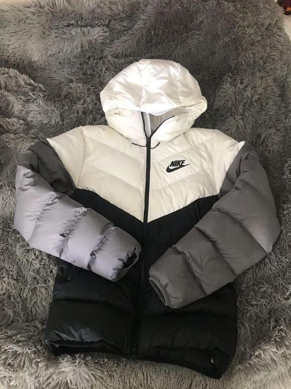Nike mens puffer downfill jacket