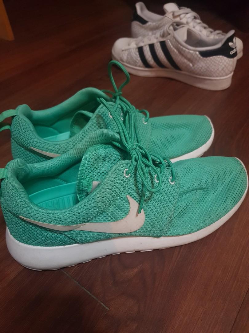 Nike Roshe Run Mint Green, Men's