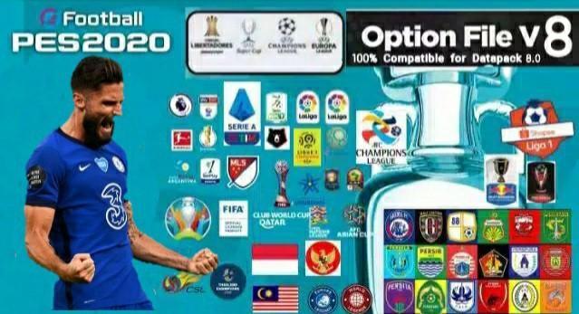 PES 2020 Option File Full Liga Shopee PS4 Ori