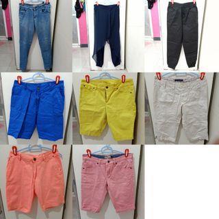 Preloved Celana Kain Bahan Jeans #agustus2020