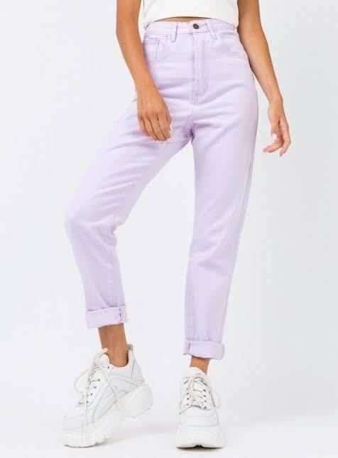 Princess poly lilac jeans