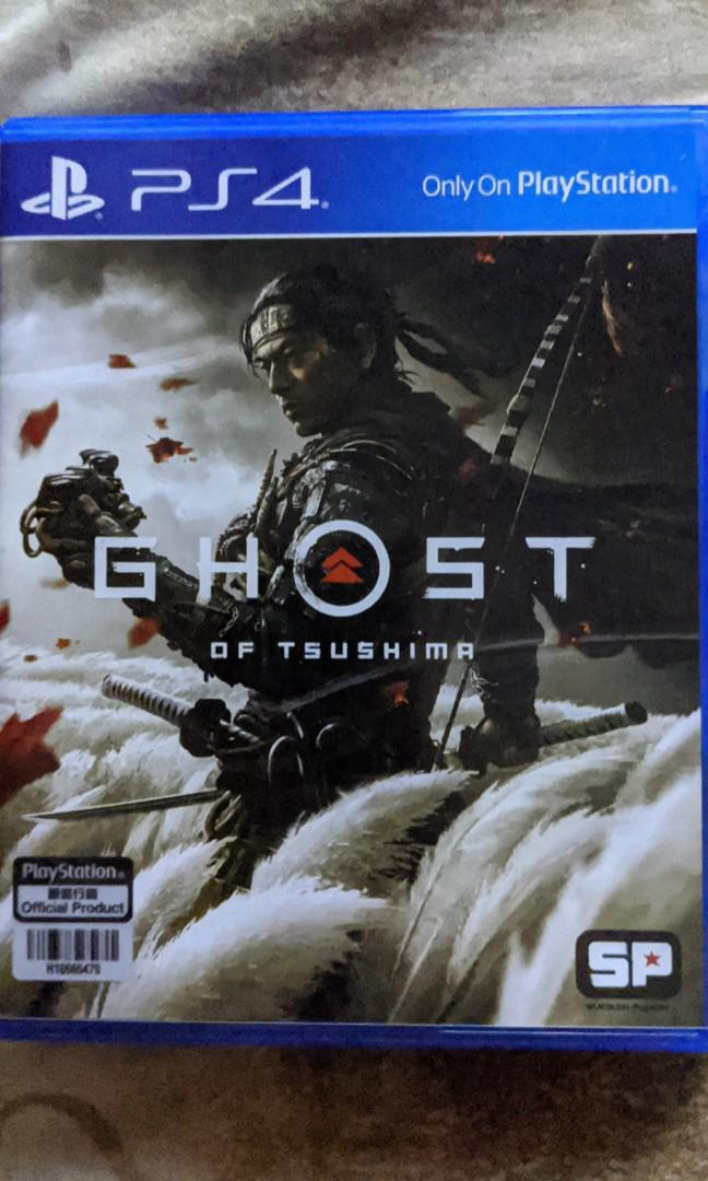 PS4 Game: Ghost of Tsushima