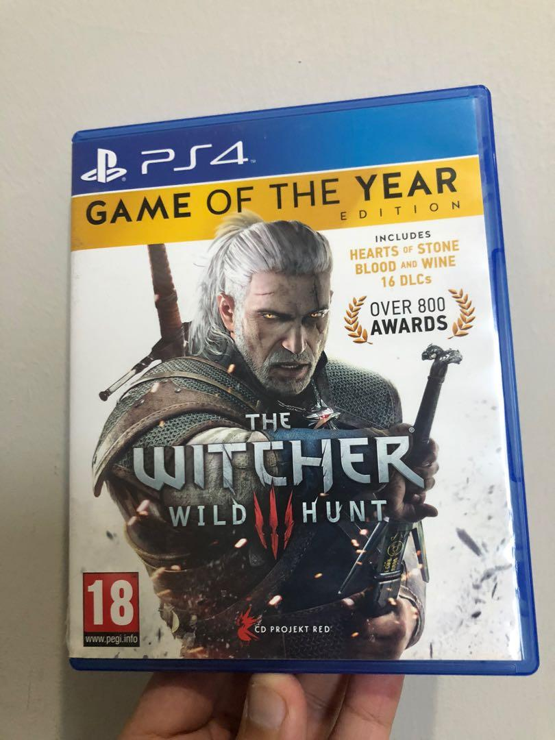 PS 4  - The Witcher 3 wild Hunt
