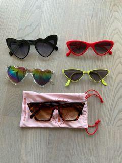Sunglasses (priced as a bundle)