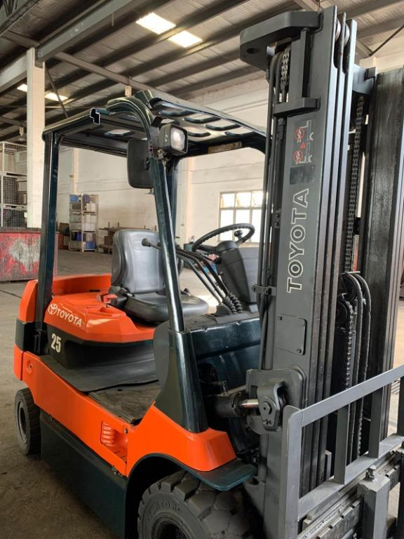Toyota Forklift For Sales. (Brand new Battery)