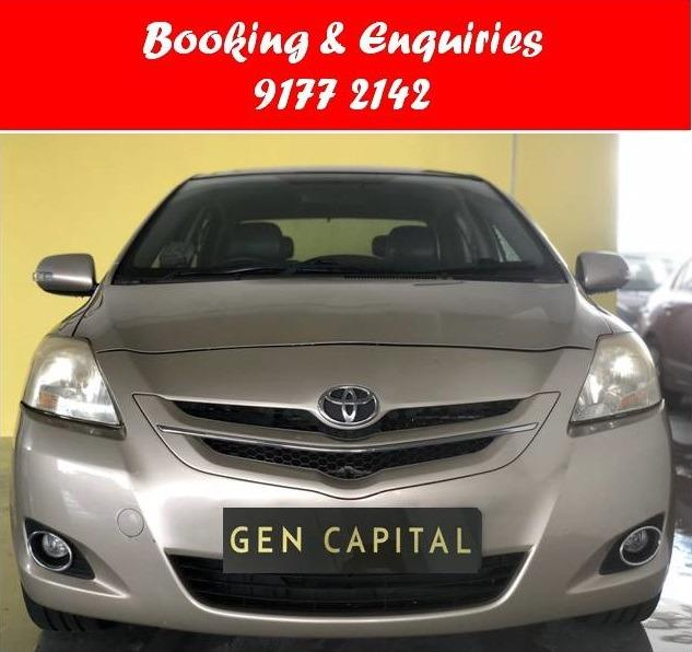 Toyota Vios.Cheap. Budget Cars. 6 months rate. $500 deposit only. Whatsapp 9177 2142 to reserve. LAST UNIT