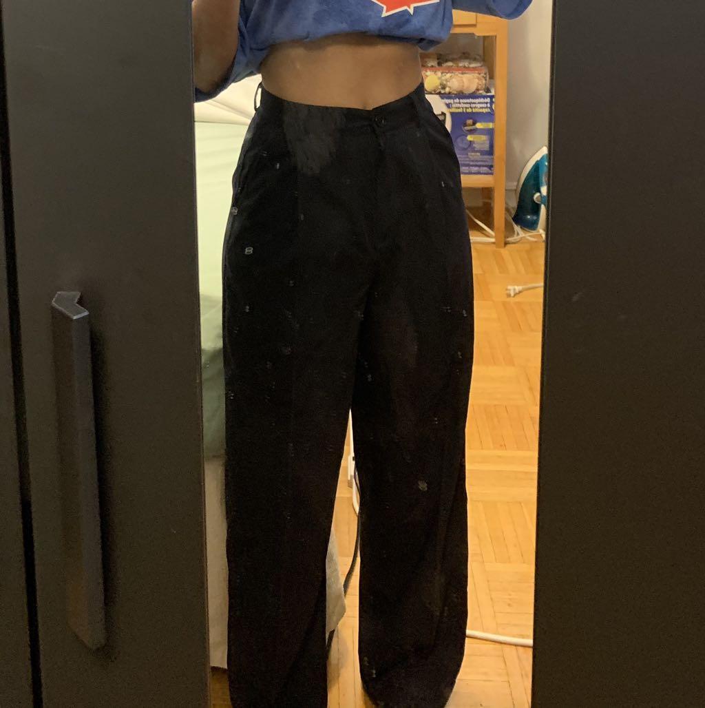 Vintage Pleated Trousers