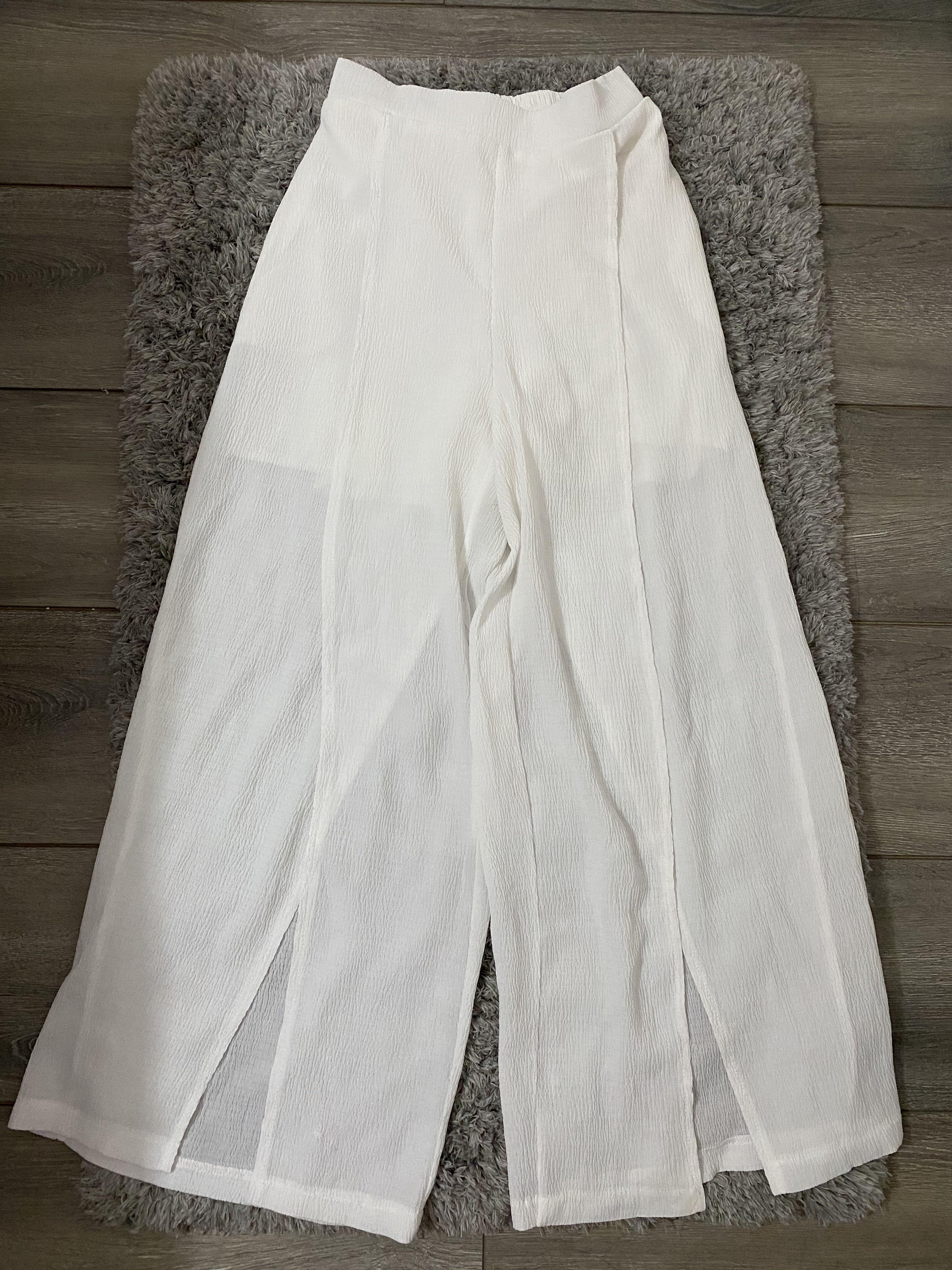 Sheer Beach cover up pants SZ XS-S