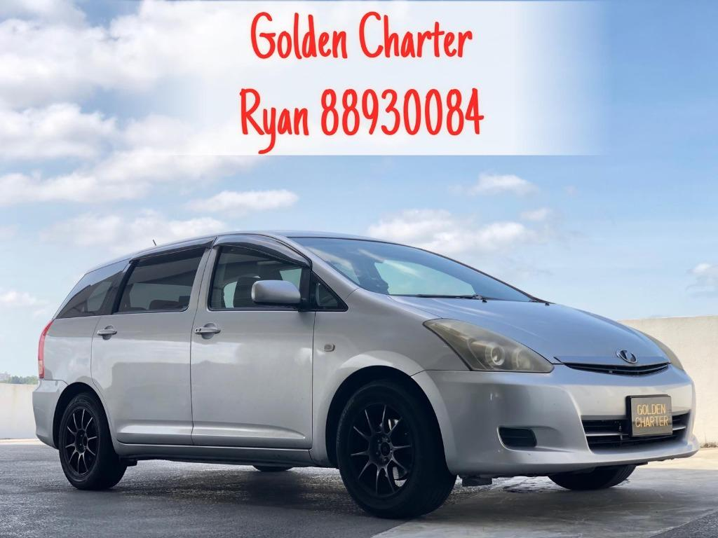 22/08 Call Ryan 8893 0084 Toyota Wish Very Affordable Vehicles Available For Rent!!! Go-Jek Rebate, Grab, Ryde, PHV, Personal Usage Available! While Stocks Last ! Rent Car ! Car Rental ! Cheap Rental Car !