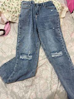 歐美落地褲