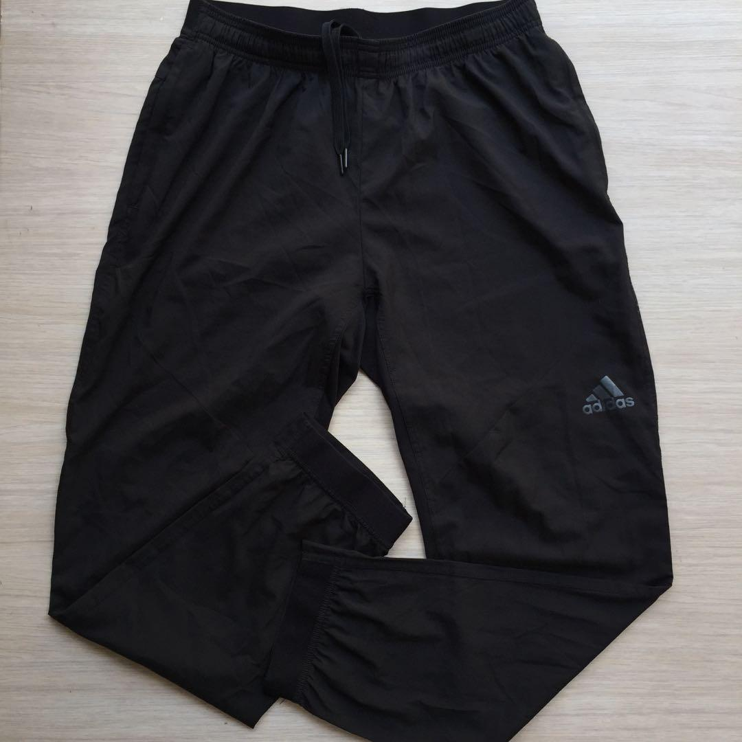 Adidas Climacool workout pants black size L  measurement 80x103cm