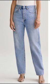 Agolde 90s Mid Rise Jeans in Snapshot