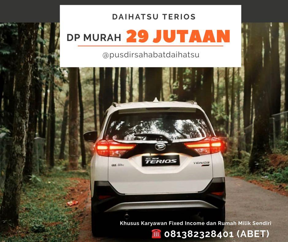 ANGSURAN MURAH Daihatsu Terios mulai 4 jutaan. Daihatsu Fatmawati