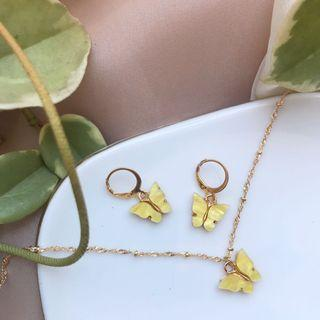 Yellow Butterfly Set💛