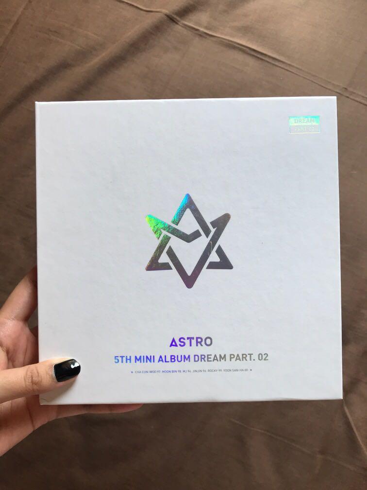 Astro 5th mini album part 02 (with version) limited edition