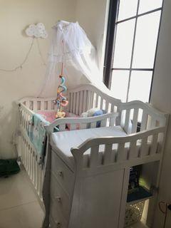 Baby Crib fullset