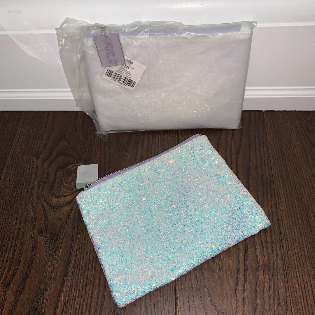 BNIP sparkly make up bag / pencil case