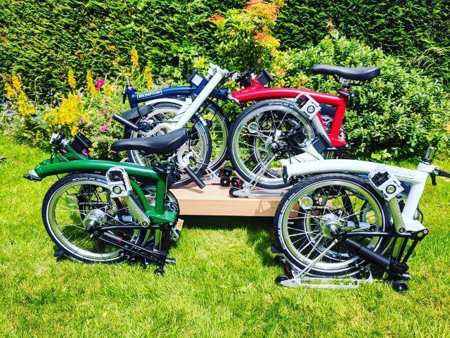 Brompton  folding bike th 2020