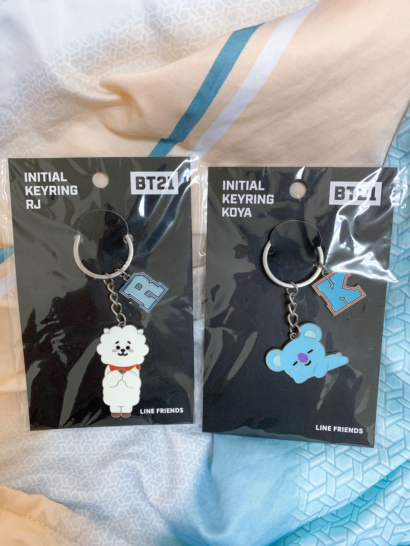 BTS BT21 日本限定鑰匙圈#單身狗