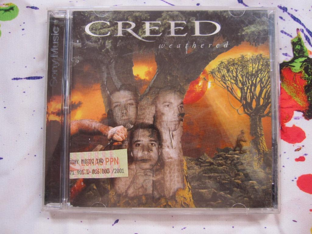 CD MUSIK ORI, CREED : Weathered