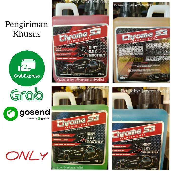 Chrome S3 Shampoo & Wax - Premium Car Care Shampoo