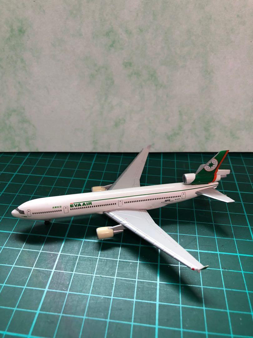 EVA AIR - plane model - 12cm