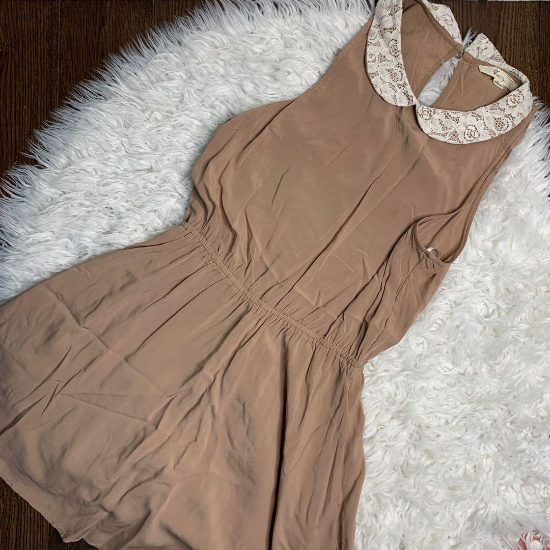 f21 collared dress