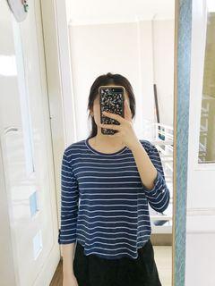 Grey & Navy Tshirt