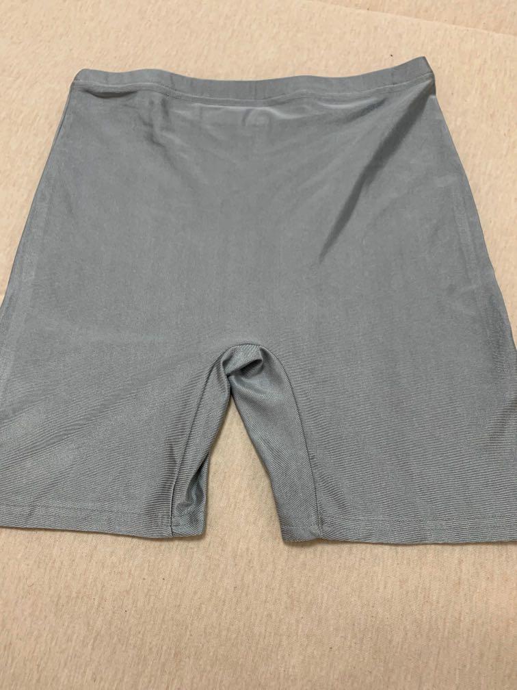 Grey/ silver shorts
