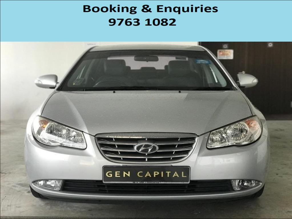 Hyundai Avante ! Budget ! Cheap car for rent ! Promotion price ! Deposit only @ $500 . Whatsapp 9763 1082 to reserve yours now !