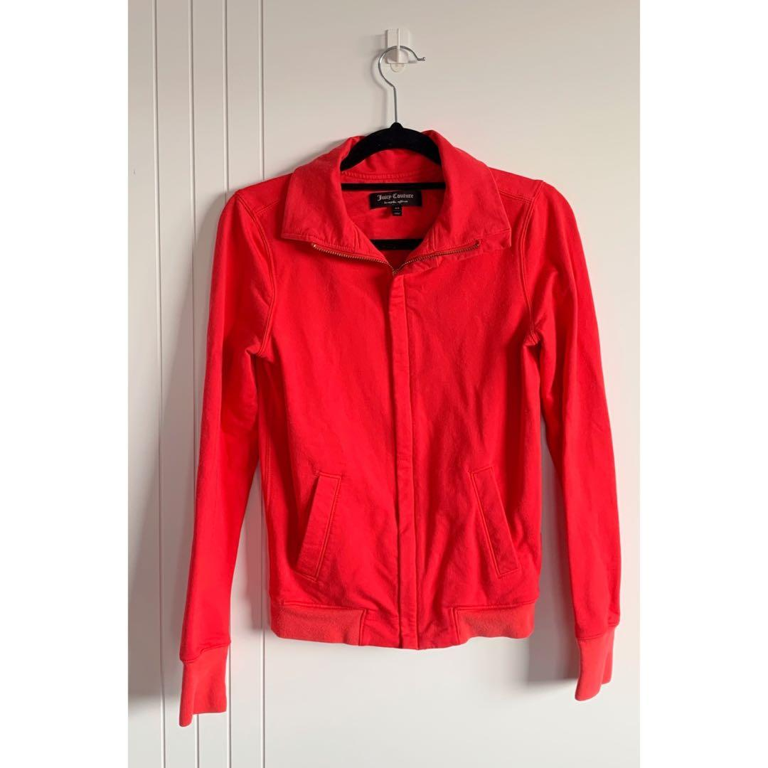 Juicy Couture red jacket - xs