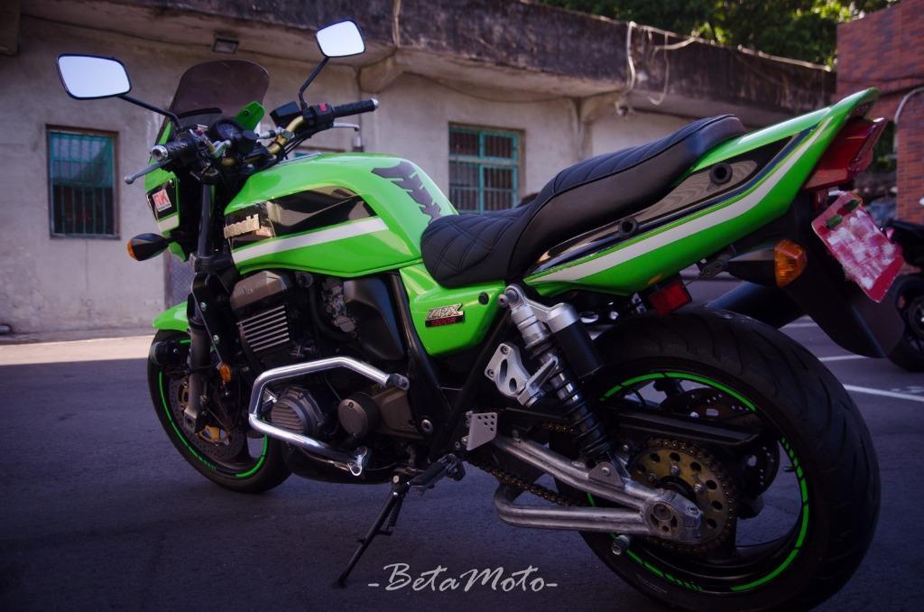 Kawasaki ZRX 1200 男子漢