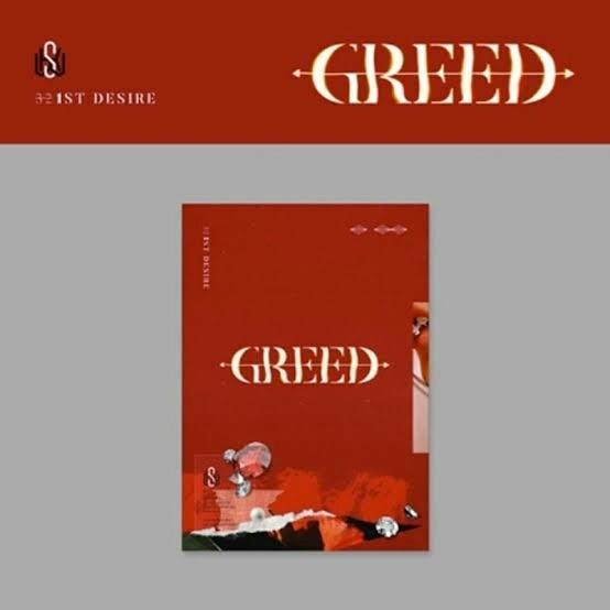 Kim Woosek 1st Mini Album Greed S Version