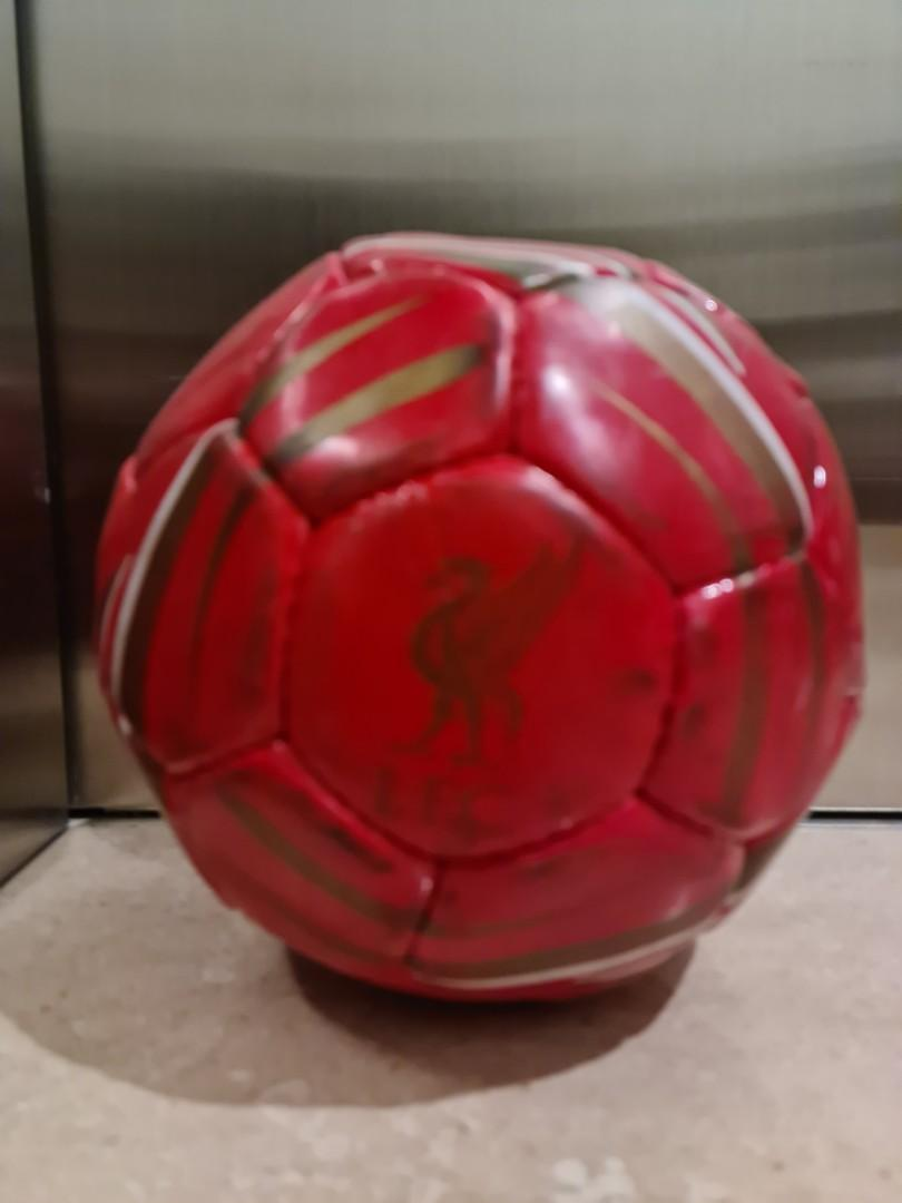 Liverpool soccer ball normal size