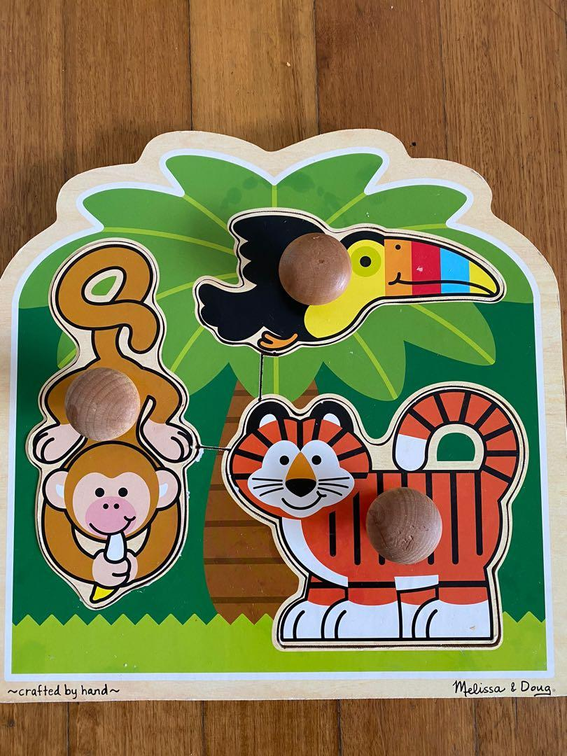 Brand new wooden Farm//jungle 1st puzzle