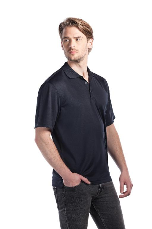 Men's Performance Sportswear Polo T-Shirt (Size M & XS)