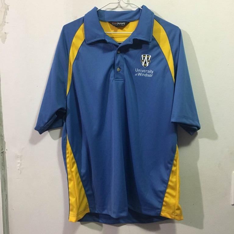 Men's University of Windsor Apparel Polo T-Shirt (Size M)