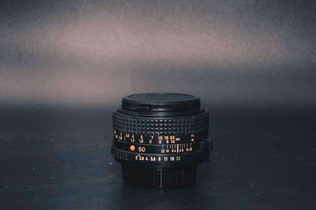 MINOLTA MD 50mm F2 定焦人像鏡頭