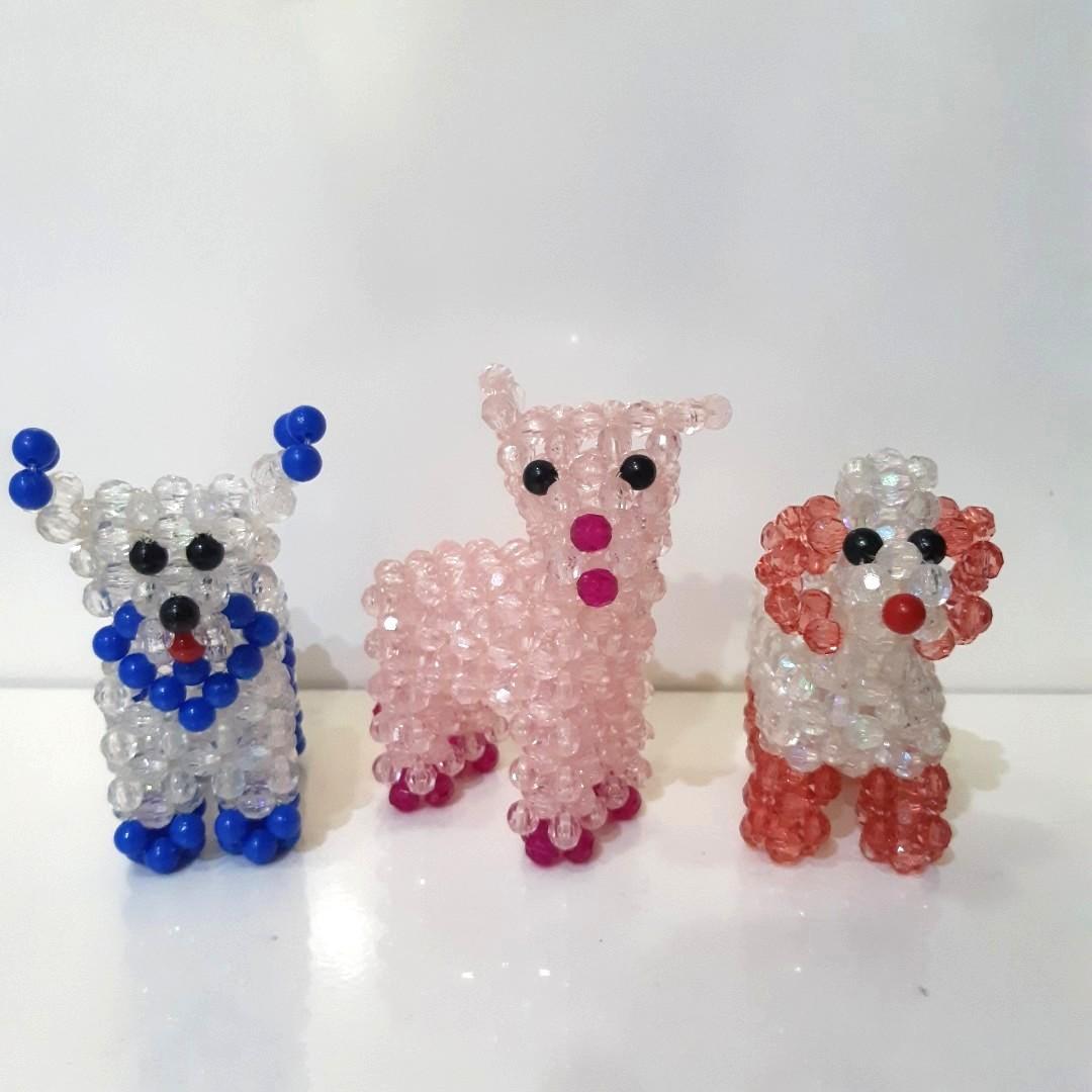 Mote / Manik-manik / Pajangan Lucu Handmade Anjing