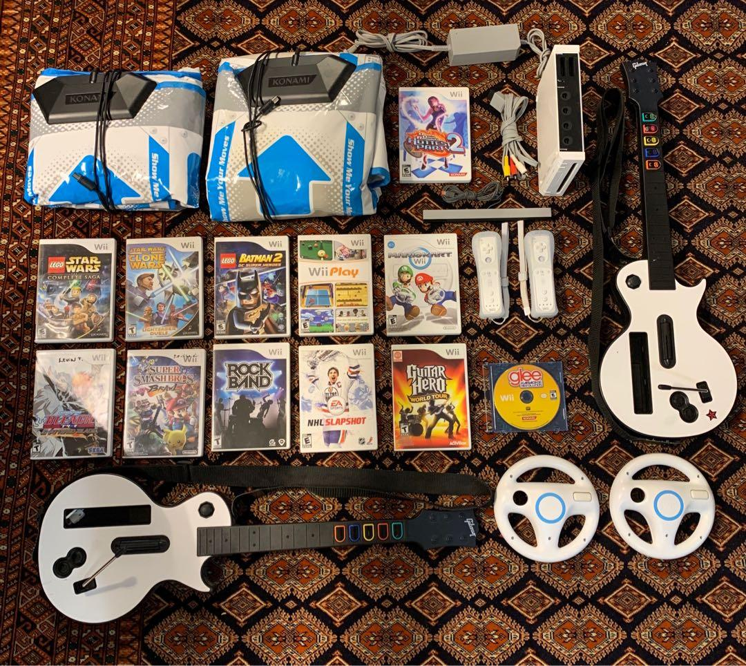 Nintendo Wii massive bundle collection mint! Perfect gift!
