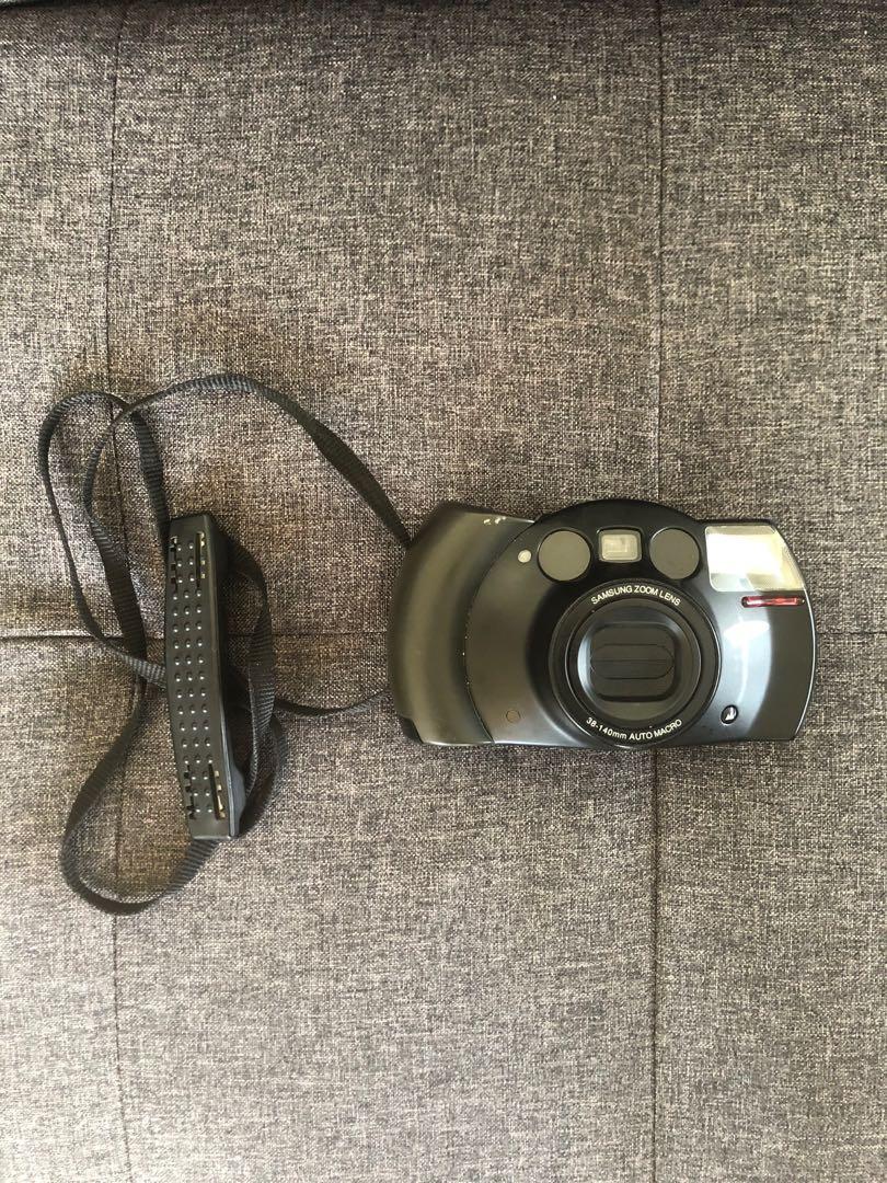 Samsung Zoom Lens Film Camera