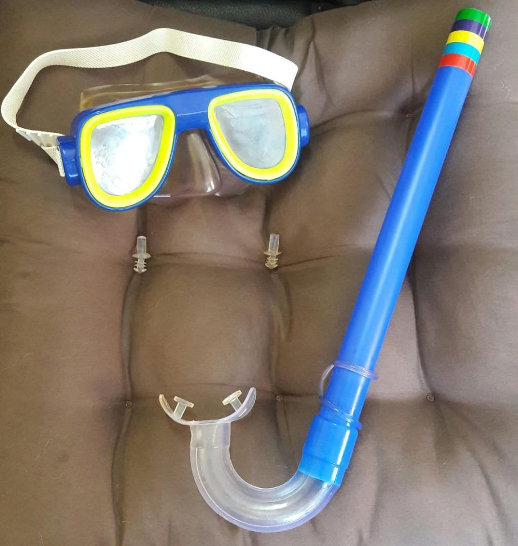 #agustus2020 Swim mask and snorkel set