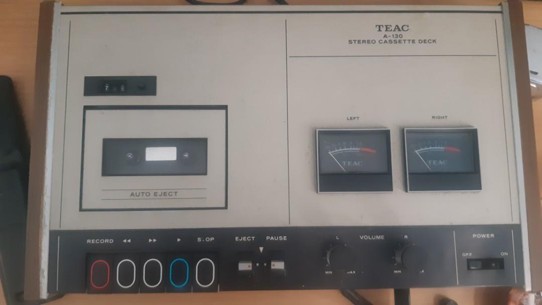 Teac tape deck a 130