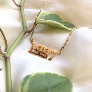 The 1997 Necklace