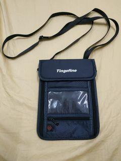 Tingofine多功能防RFID防盗隨身護照包