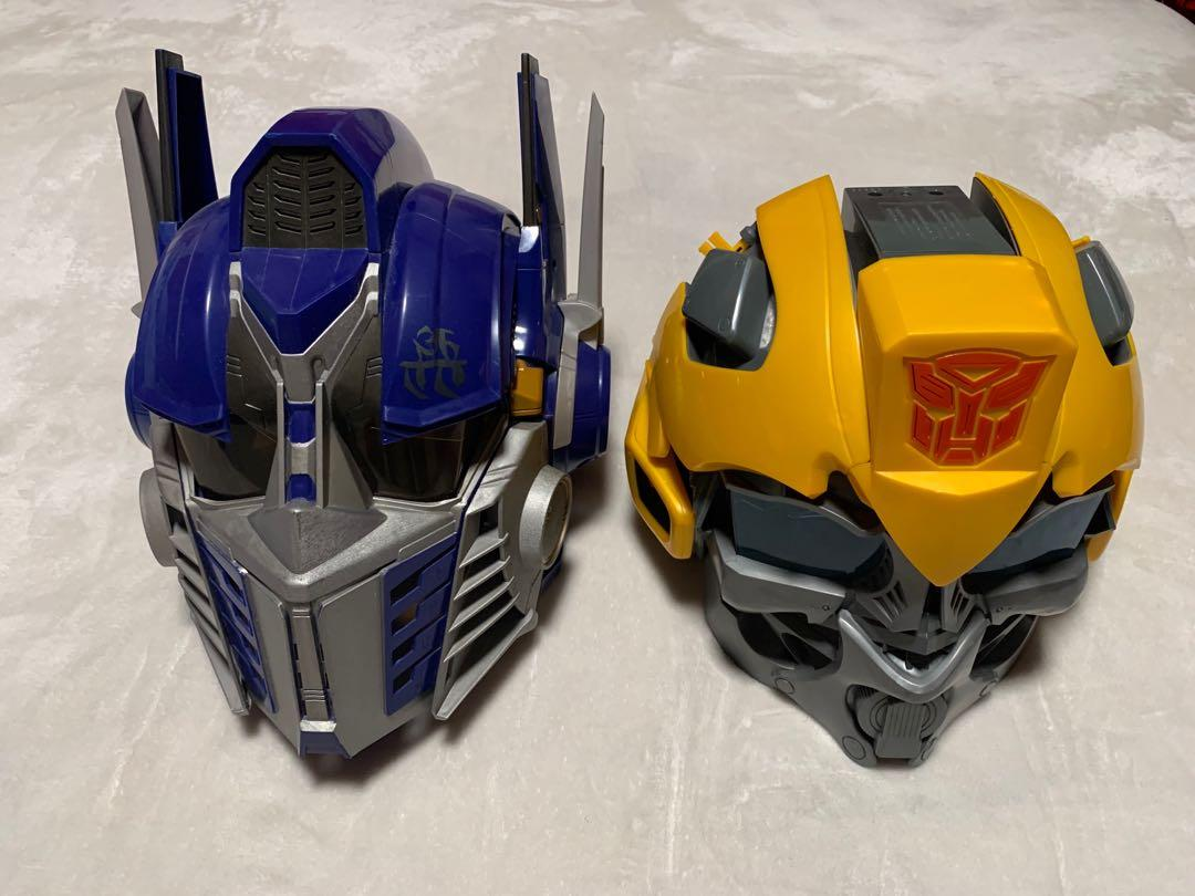 Transformers voice activated masks men's for Halloween