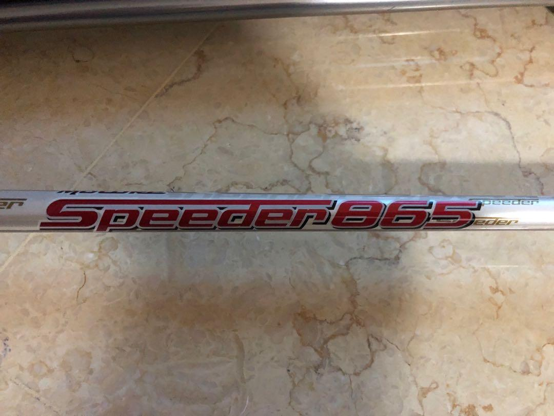 Want To Sell Fukijura Speeder 865 Stiff 4 Hybrid 39 5 Inch Shaft Sports Sports Games Equipment On Carousell